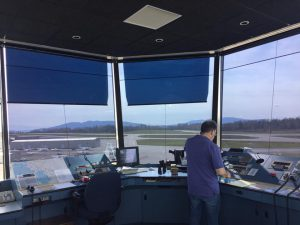 Communication from KBLI Tower Controller