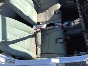 Seats and Cockpit Inside Diamond Star DA40
