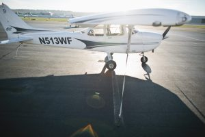 Galvin Flying's Cessna 172 Aircraft on Boeing Field