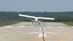 Crosswind Landing with Small Aircraft