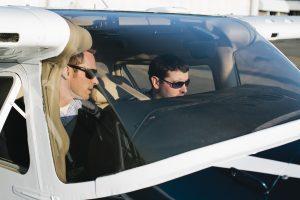 flight training at Galvin