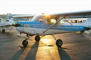 Galvin Flying's Blue Cessna Aircraft